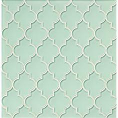 Found it at Wayfair - Mallorca Glass Mosaic Tile in Mist