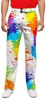 crazy golf pants - G
