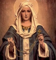 Our Lady of the Rosary...The fifteen promises to Christians who pray the Rosary...Amazing!