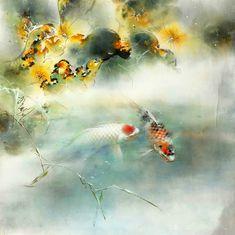 Nu ai mai văzut așa ceva! Pictura chineză tradițională: acuarele delicate pe hârtie de orez ⋆