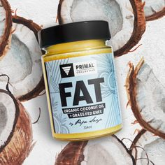Paleo friendly alternative to butter. Dairy-free, grass-fed ghee with raw, organic virgin coconut oil. Australian Made. Ancient Foods for a Modern Generation. Grass Fed Ghee, Organic Coconut Oil, Paleo Diet, Coffee Cans, Drink Sleeves, Dairy Free, Alternative, Butter, Healthy Recipes