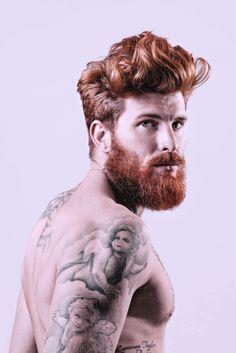 Hair Style  Haircut  Ginger Men