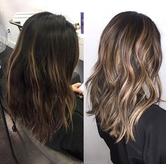 6 Things you need to know about Balayage Highlights – Stylish Hairstyles Ombre Hair, Balayage Hair, Dark Balayage, Short Balayage, Dark Hair With Highlights, Color Highlights, Hair Color And Cut, Hair Colorist, Haircolor
