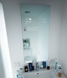 """""""Smart bathroom mirrors with Internet connections and integrated displays have been fodder for futurists (including me) since the early 1990s at least. Google engineer Max Braun decided to build his own from a two-way mirror, display panel, and Amazon Fire TV Stick running an Android application package for the UI. """""""
