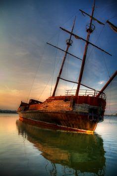 """Sailing for adventure..."""