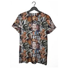 A James Franco collage t-shirt, because why not