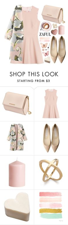"""Zaful_11"" by ruska-10 ❤ liked on Polyvore featuring Givenchy, RED Valentino, Martha Stewart, STELLA McCARTNEY, H&M, Pink, girly and zaful"