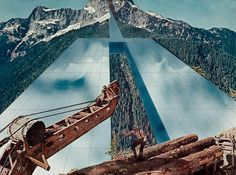 SuperStudio | Monumento Contínuo [Continuous Monument on the Rocky Mountains] | 1969