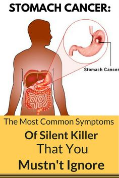 Stomach Cancer: The Most Common Symptoms Of This Silent Killer That You Mustn't Ignore