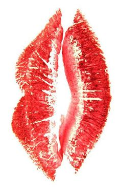 Kiss Lips Art Print