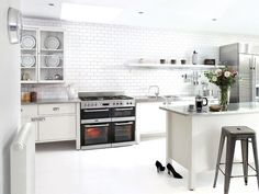 Leisure Freestanding Dual fuel Range cooker with Gas Hob. Range cooker by Leisure Ikea Varde, Dual Fuel Range Cookers, Freestanding Kitchen, Beautiful Soup, Pantry Labels, Kitchen Cabinets, Kitchen Units, Kitchen Pantry, Kitchens