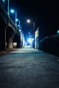 Street- with mixed lights (street lights) for Sandy's walk?