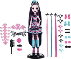 Ooak, Monster High, Dolls, Bratz, Bratzillaz, Fashion Royalty, Barbie,Toys, Disney, Princess, Novi Stars, La Dee Da, Barbie, Ever After High