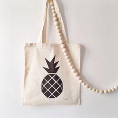 """Image of Totebag """"Ananas"""""""