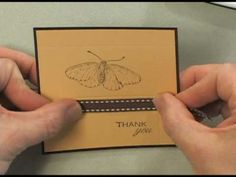 Creating a Decorative Edge with the Scor-Pal NOTICE tip for centering brads--Great!
