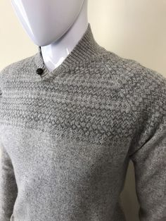 £14.95 GENUINE MENS TED BAKER JUMPER MEDIUM SLIM FIT GREY MEDIUM KNIT RRP £110 #mensclothing #tedbaker #knitwear #ebay #wearegivingitaway