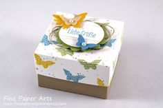 Schmetterlings-Schachtel