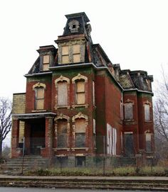 Abandoned in Detroit.