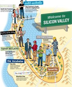 Valleys of Silicon Valley