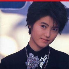 Yoko Oginome became popular with ''Dancing Hero'',one of my favourite songs ;D