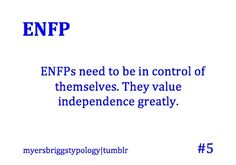 (ENFP) Needs to be in control of myself. I value independence greatly. I'm independent personally but at the same time I see great value in being a team player when needed. There's a great positive balance with that. <<WELL SAID Enfp Personality, Personality Psychology, Personality Profile, Myers Briggs Personality Types, Myers Briggs Personalities, Enfj, Thing 1, A Team, Feelings