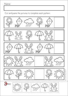 kindergarten patterning summer - Google Search