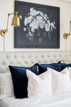 8 Easy And Cheap Useful Tips: Home Decor Plants Living Rooms modern home decor interior design.Home Decor Farmhouse Cutting Boards home decor quotes inspiration.Target Home Decor Pillows. Master Bedroom Makeover, Master Bedroom Design, Home Decor Bedroom, Bedroom Artwork, Glam Bedroom, Bedroom Ideas, Cheap Home Decor, Diy Home Decor, Home Decor Lights