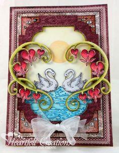 Heartfelt Creations | Romantique Swans