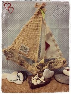 my driftwood sailboat