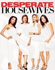So here we are at the season finale, and I think Desperate Housewives did an admirable job of tying up many loose narrative plot strings, while still leaving us wanting more, what with a clever epilogue that fast-forwarded five years into the future.