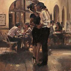 Raymond Leech 1949 | British impressionist painter
