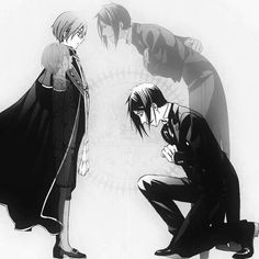 Ciel and Sebastian beginning and end