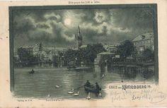 Königsberg Schloßteich, Halt gegen Licht 1900