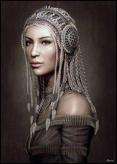 Dama de Elche moderna