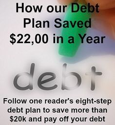 See one couple's 8-step plan to make money, cut spending and get out of #debt! They saved more than $22k in a year and so can you. ways to make money, legitimate work at home jobs #makemoney #workathome