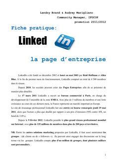 Fiche pratique LinkedIn #slideshare