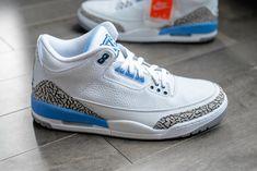 a146e70fcb8 Nike Air Jordan 3 UNC University of North Carolina Jordans Sneakers