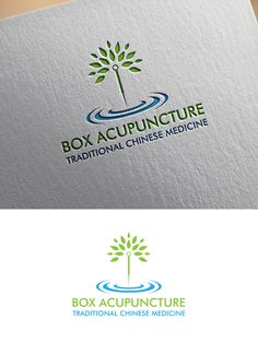 Box Acupuncture and Traditional Chinese Medicin... Professional, Colorful Logo Design by Creative Sheena