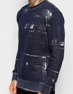 Vivienne Westwood Anglomania Smudge Print Sweatshirt
