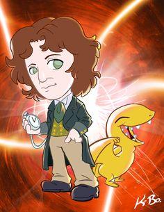 8th Doctor and a Vortisaur.  #kevinbolk