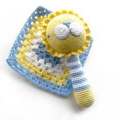 Baby Bruno - Amigurumi Rattle by irenestrange, via Flickr