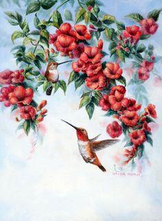 Художница Wanda Mumm-птицы. Обсуждение на LiveInternet - Российский Сервис Онлайн-Дневников