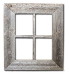Rustic Window Frame by RusticDecorFrames on Etsy, $25.00