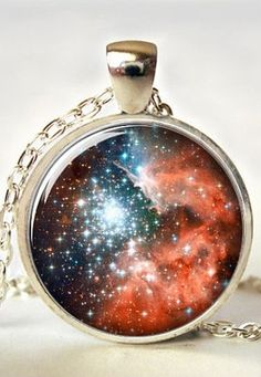 Galaxy pendant | necklace | jewelry design