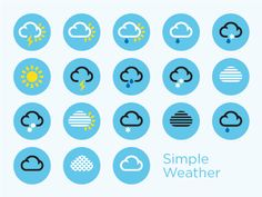 SimpleWeather Free Icons