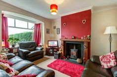 red chimney breast - Google Search