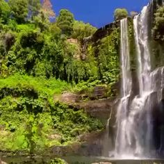 Listening to the waterfall and practising deep breathing #healing #stress #mindfulness #MindBodySoul #naturalbeauty