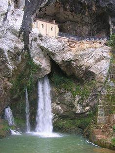 Covadonga. Asturias. Spain.