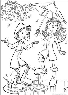 Groovy Girls 2017 Coloring Pages