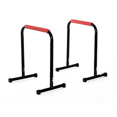 Special Offers - Soozier 29 x 25 Parallette Dip Station Bars  Black For Sale - In stock & Free Shipping. You can save more money! Check It (February 19 2017 at 09:19AM) >> https://bestellipticalmachinereview.info/soozier-29-x-25-parallette-dip-station-bars-black-for-sale/